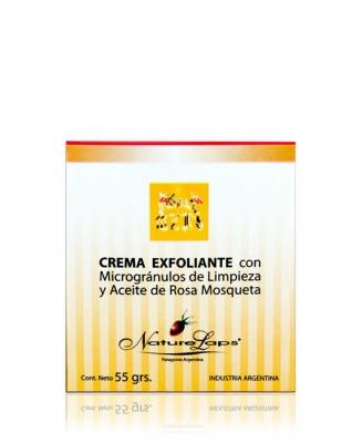 Crema Exfoliante con Microgránulos